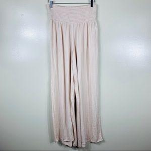 FOREVER21 high waist wide leg pants M-CG363